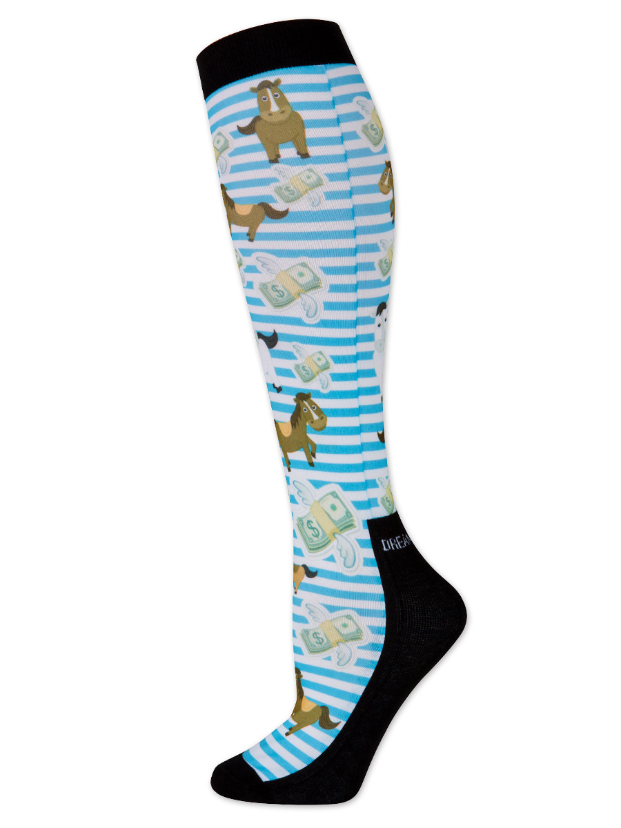 Dreamers & Schemers Cash Money Boot Sock