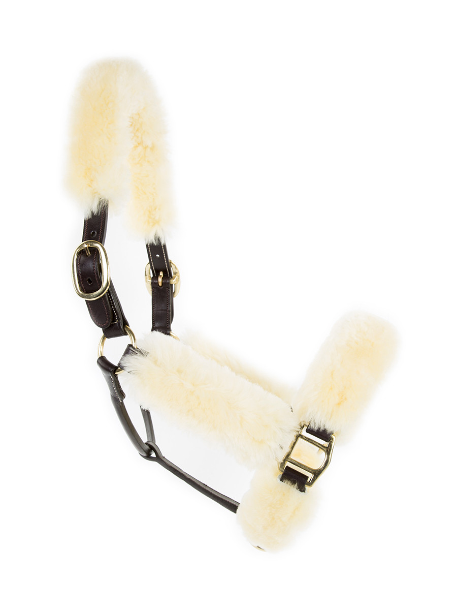 Cavaletti Leather /Sheepskin Halter