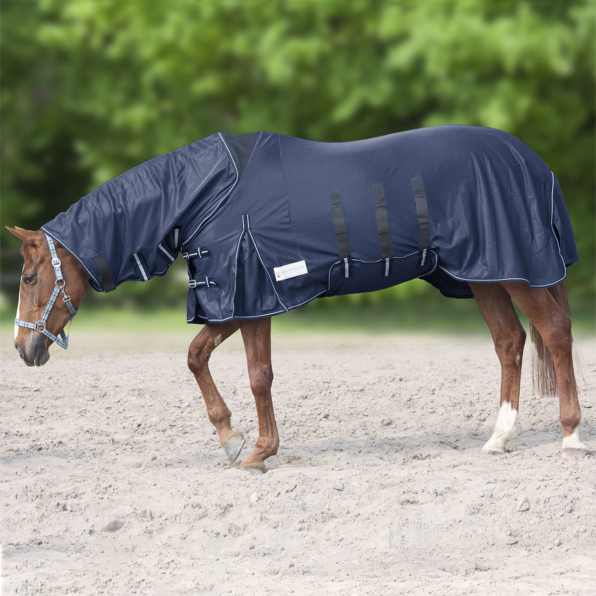 Fly Rug with Elastic Neck Part