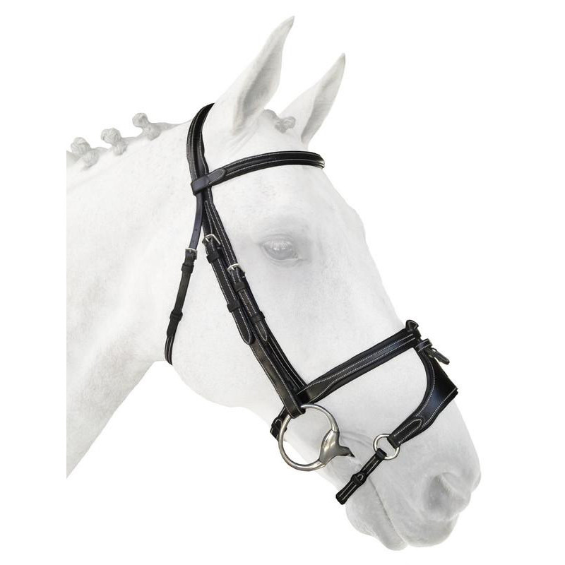 SilverCrown La Baule 2 Headpiece with  X-Nose 2 Noseband
