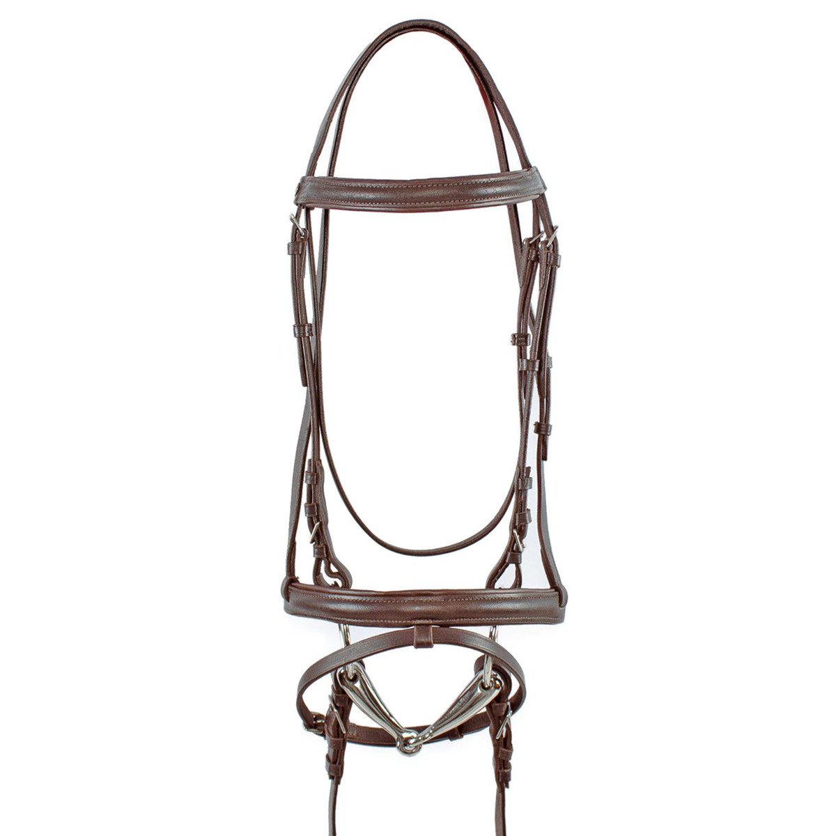 Derby Leather Bridle Complete with Cotton Reins
