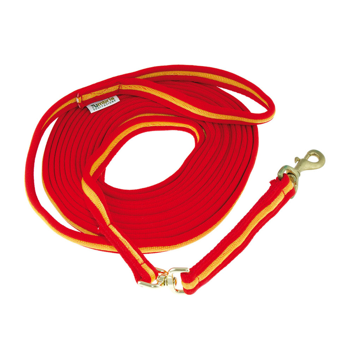 Padded Nylon Lunge Rein with Hand Loop
