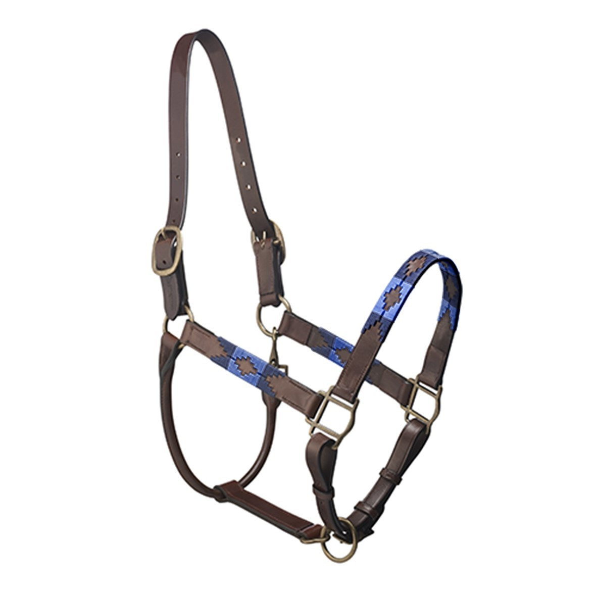 Pampeano Pampa Headcollar - Navy and Royal Blue