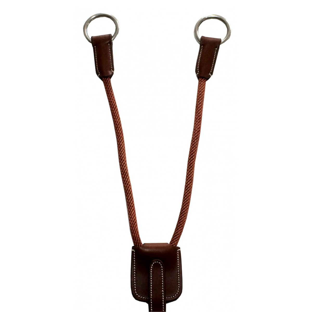Silver Crown Fork Cord and Leather