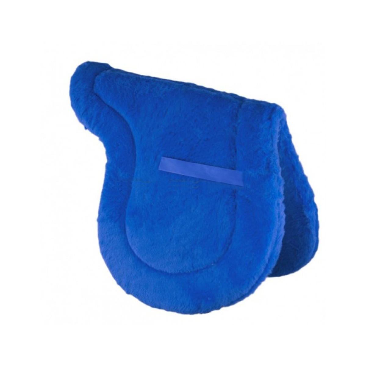 Synthetic Fleece Shaped Saddle Pad