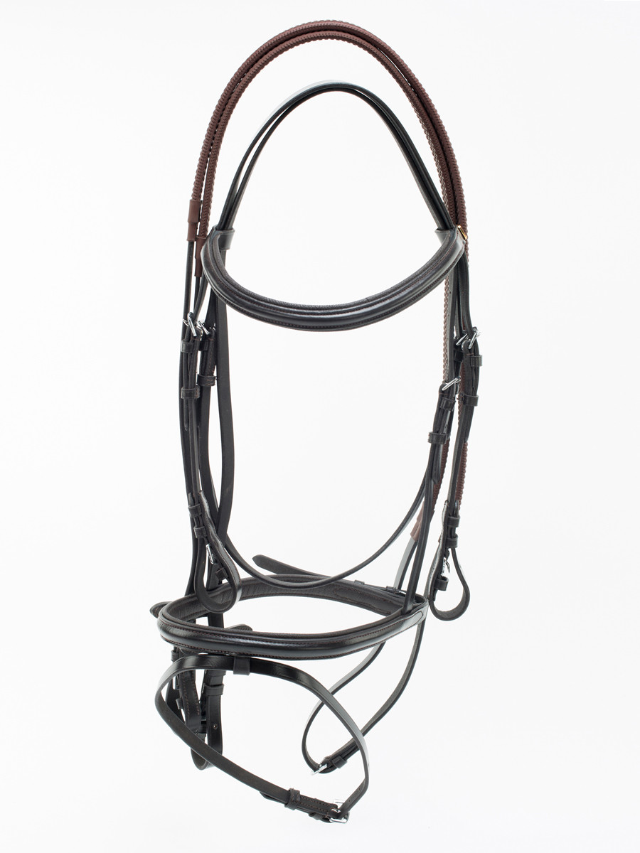 Uke Superior Leather Bridle with Rubber Rein & Noseband