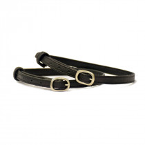 Stübben Spurs Straps Leather Black SS