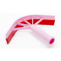 Plastic Curved Sweat Scraper