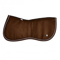 Ogilvy Jump Memory Foam Half Pad Chocolate/White/Chocolate