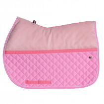 Ogilvy Jump Memory Foam Pad Baby Pink / White / Baby Pink