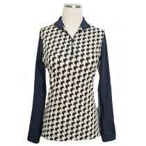 EIS Women's Long Sleeve Close Out Patterned COOL Shirt ®