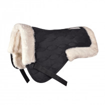 Saddle Pad with Synthetic Fur