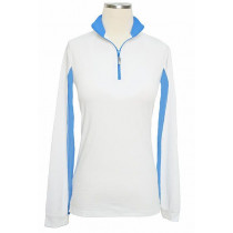 EIS Junior's Long Sleeve Blocked Cool Shirt