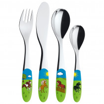 Cutlery for Children Design Horse
