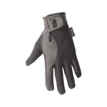 Elasticized Leather Gloves