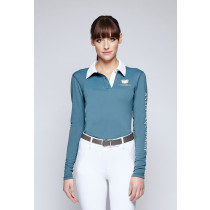Noel Asmar Women's Classic Long Sleeve Polo