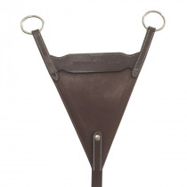 Silver Crown Bib Martingale Attachment