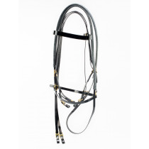 Biothane English Bridle Rubber Covered Reins