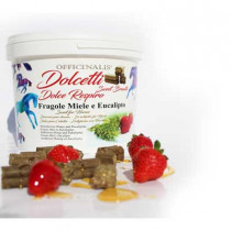 Officinalis Biscuit with Honey, Eucalyptus and Strawberries