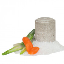 Officinalis Carrot / Marigold / Chard Lollyroll Salt Blocks (Pack Of 2 Blocks)