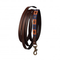 Pampeano Pampa Leadrope - Orange and Navy