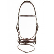 Silver Crown Doha Headpiece With Flash US Noseband