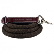 Silver Crown Halter Rope Cord & Leather