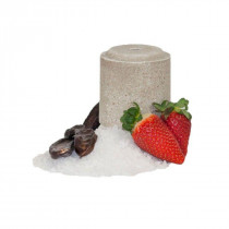 Officinalis Strawberry / Carob / Mallow Lollyroll Salt Blocks (Pack Of 2 Blocks)