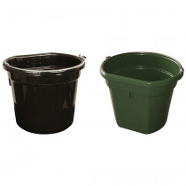 Plastic Feed & Water Bucket with Handle