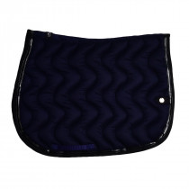 Silver Crown Wave Saddle Pad