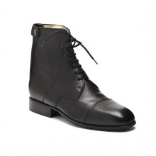 Fratelli Fabbri Leather Paddock Boots Retro Zip