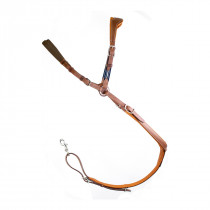 Antares Precision Leather Breastplate for Double Flaps
